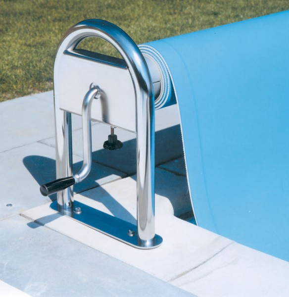 Isolis Pool-Schwimmbadfolie in der Farbe Hellblau