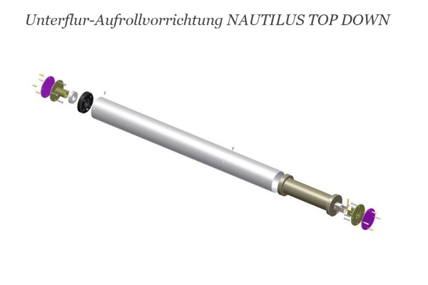 Aufrollvorrichtung Unterflur NAUTILUS TOP DOWN