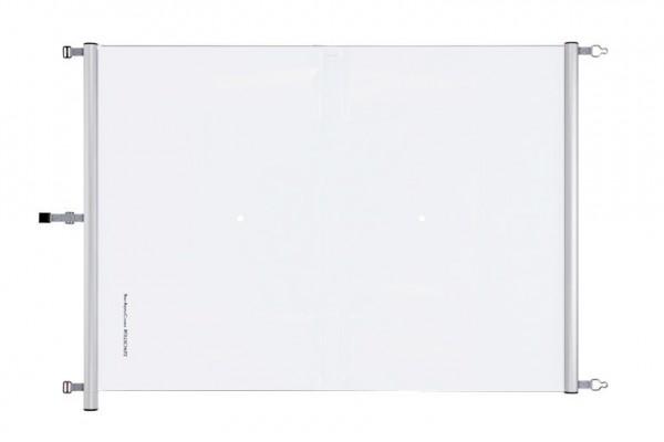 Swisstop Rollschutz Poolabdeckung in Weiß