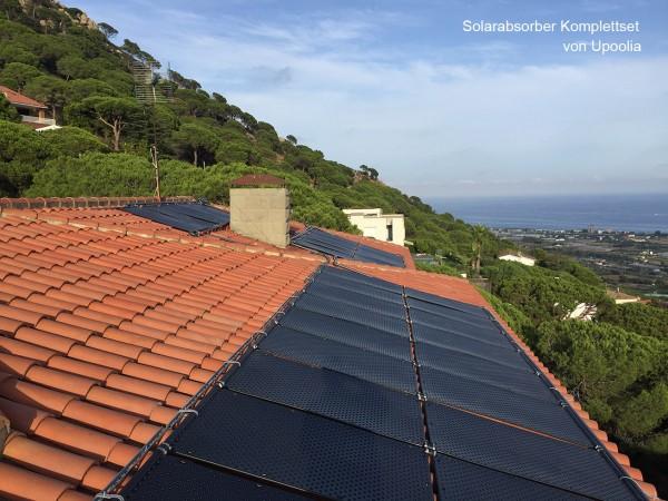 Solarabsorber für große Schwimmbecken