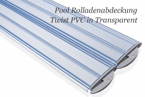 Rollladen Thermomatic Twist in PVC von BAC transparent