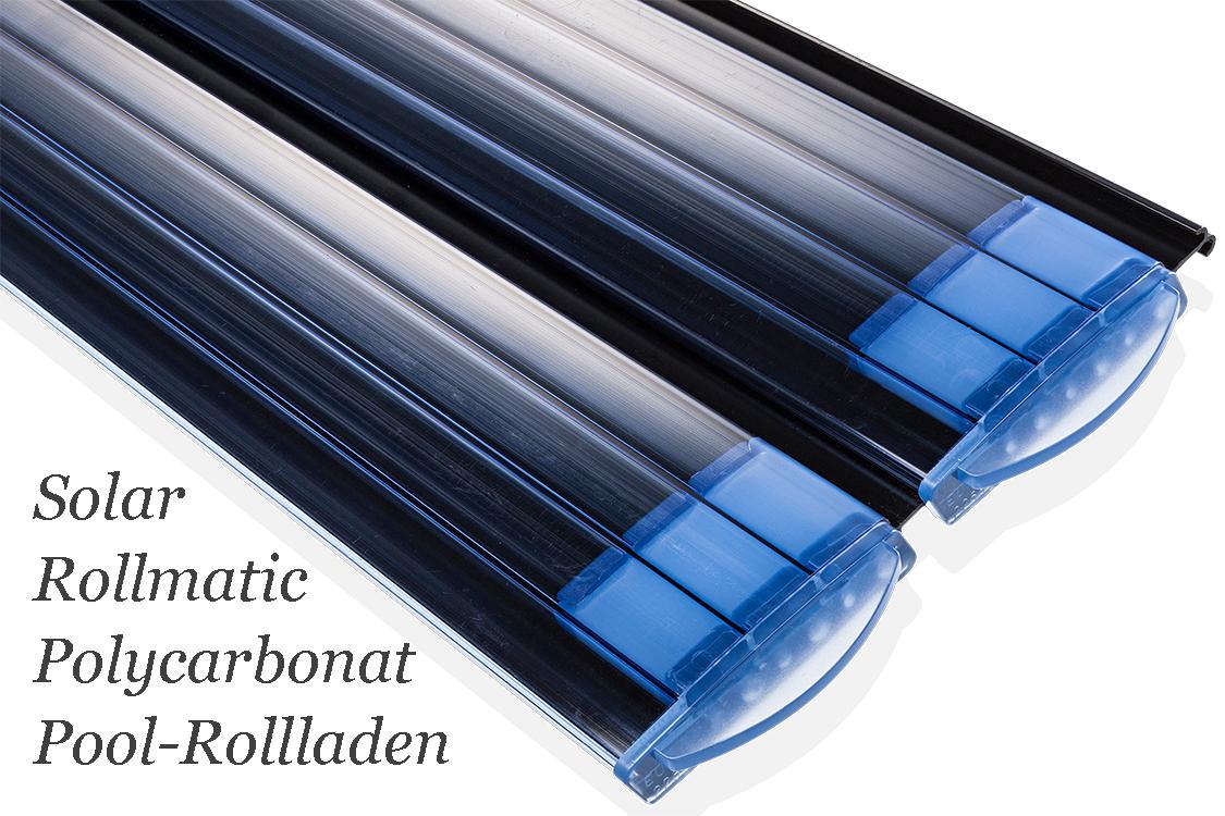 Bieri rollladenabdeckung rollmatic polycarbonat transparent for Schwimmfolie pool