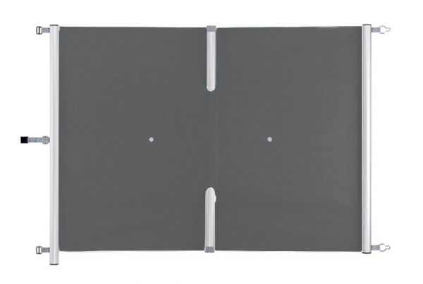 Dunkelgraue Saveguard Rollschutz Abdeckung Preis pro m²