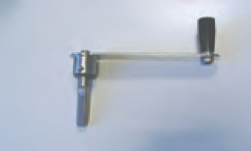 Kurbel mit antriebsnocken 1 1 f r rollschutzabdeckungen for Schwimmfolie pool