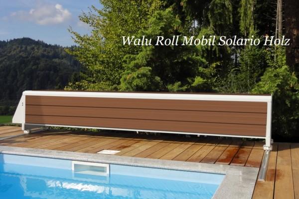 Walter Banc Solario elektrische Überflur Aufrollvorrichtung für Walu Roll Pool Rollabdeckungen