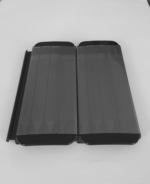 Rollladen Sol-4 PC antialg Alu Look solar
