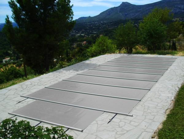 EVOLUTION Pool Solarabdeckung Typ Rollschutzabdeckung