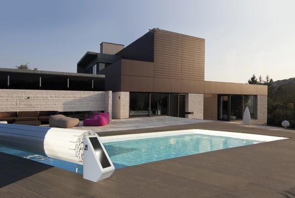Junior Solario elektrische Überfluraufrollvorrichtung für Walu Roll Pool Rollabdeckungen