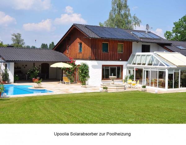Solarabsorber Komplettset für Pools bis 24 m²