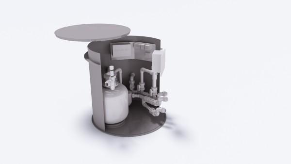 Technikschacht Basic Plus von Albixon