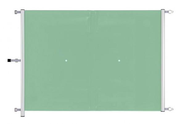 Seegrüne SwissSafe-K Rollschutzabdeckung