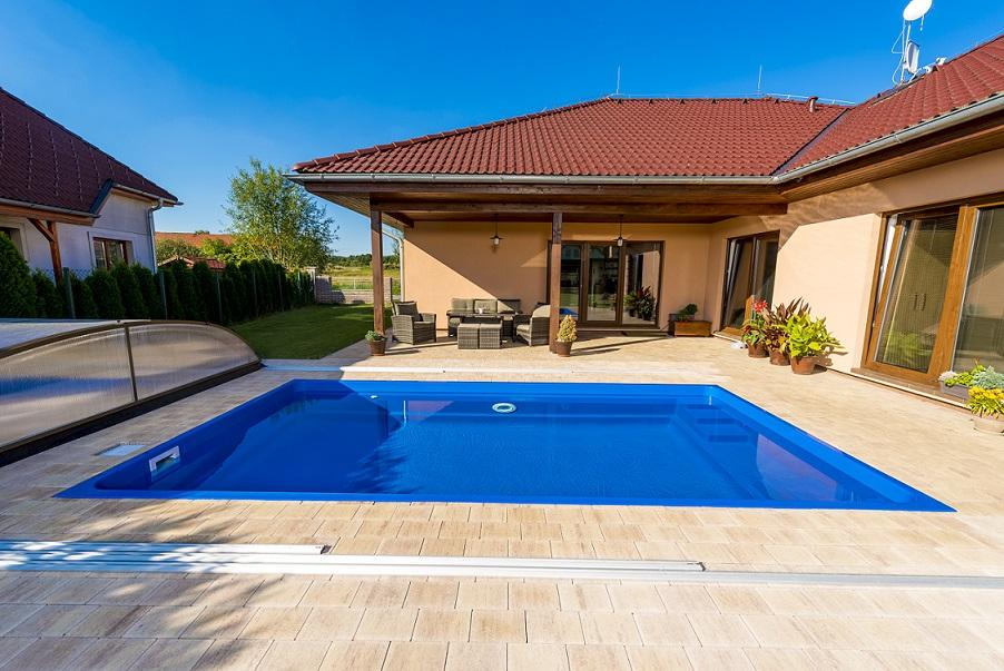 Upoolia ceramic pool saphir for Schwimmfolie pool