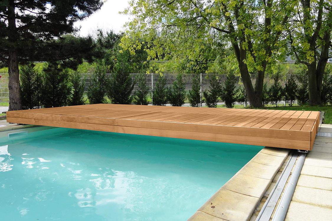 walu deck manuelle pool sicherheitsterrasse mit wpc verkleidung. Black Bedroom Furniture Sets. Home Design Ideas